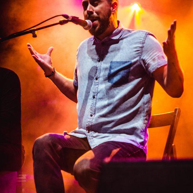 Cantante de flamenco Festival Altaveu Sant Boi.