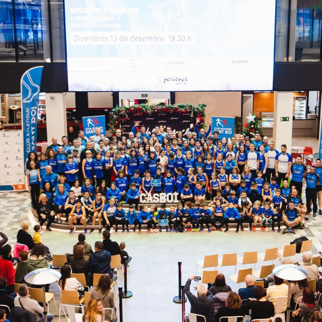 Presentación de la temporada 2019-2020 del Club Atletisme Sant Boi en Xperience Sant Boi